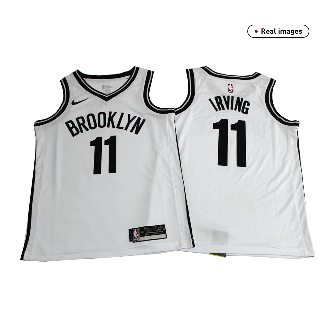 Kyrie Irving #11 Brooklyn Nets Swingman White NBA Jersey 2019/20 By Nike - Association