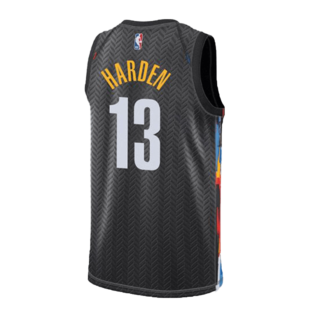 Harden #13 Brooklyn Nets Swingman Black NBA Jersey 2020/21 By Nike - City