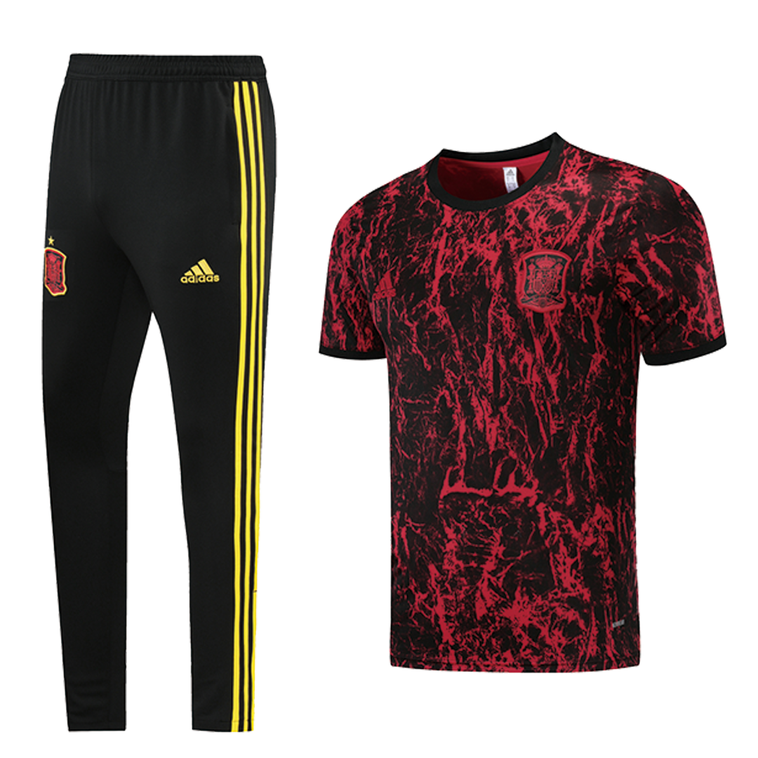 Spain Traning Kit 2021/22 By Adidas - Red