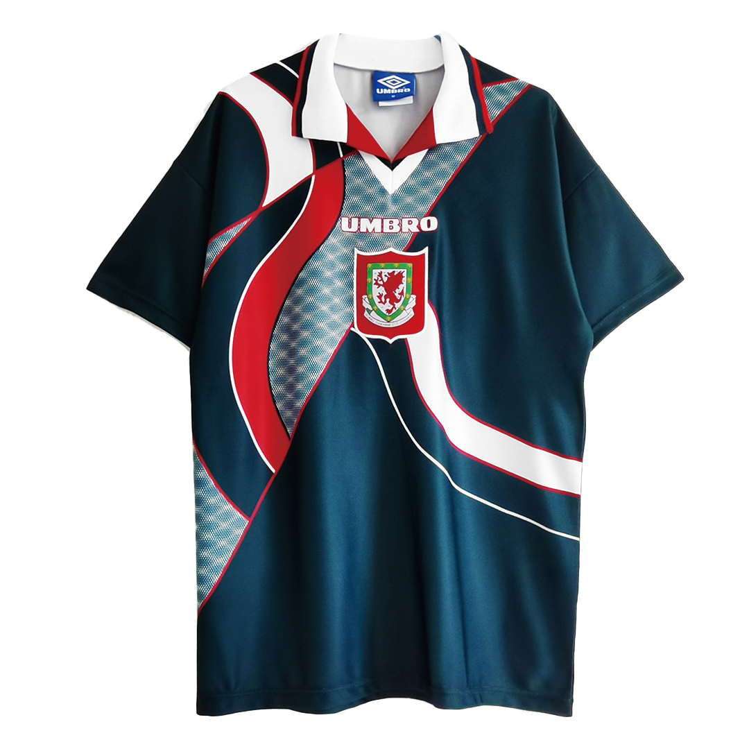 Wales Away Jersey Retro 1994/95 By Umbro