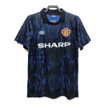 Retro 1993 Manchester United Away Soccer Jersey