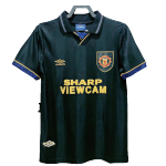 Retro 1993/94 Manchester United Away Soccer Jersey
