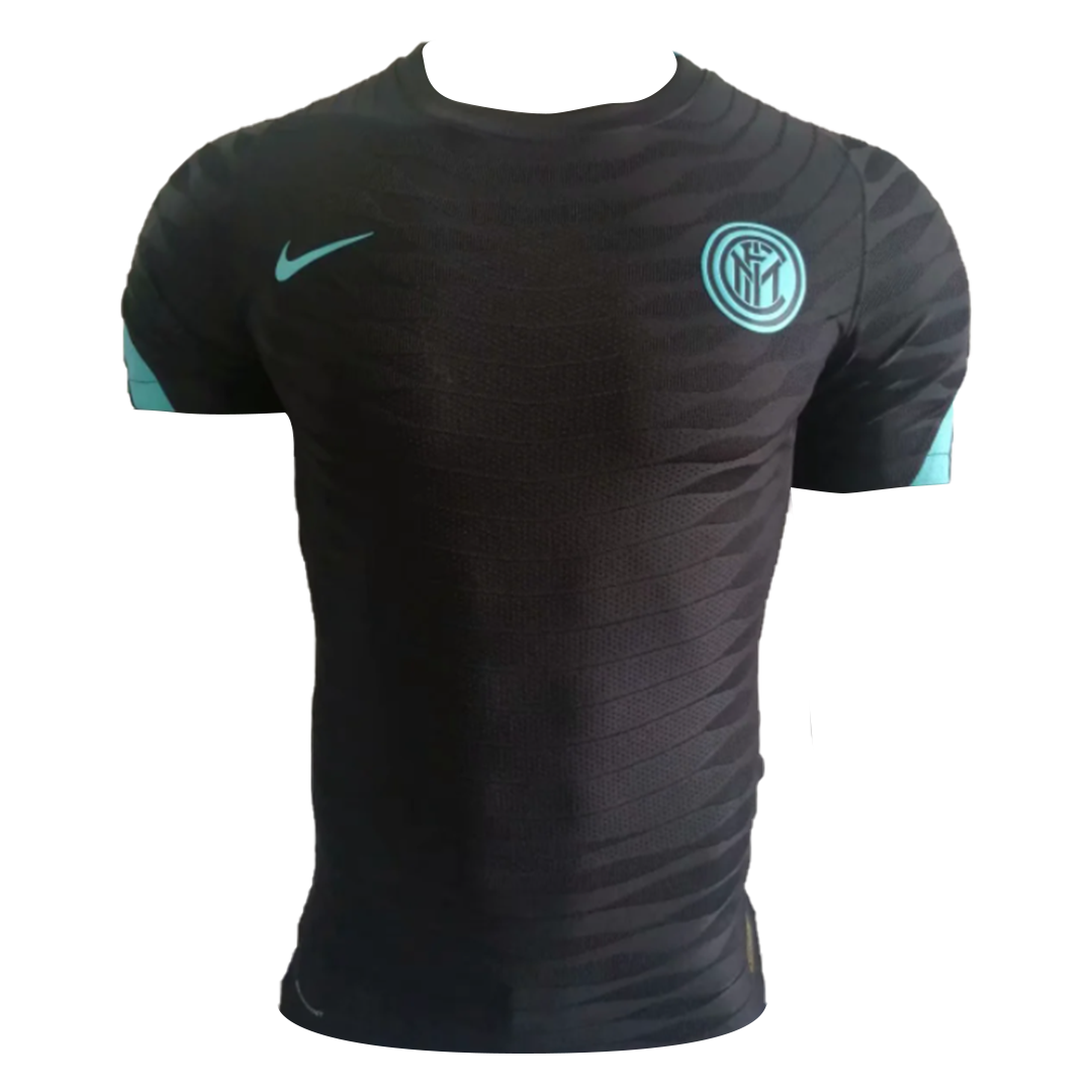 Authentic Nike Inter Milan Pre-Match Soccer Jersey 2021/22 - Black