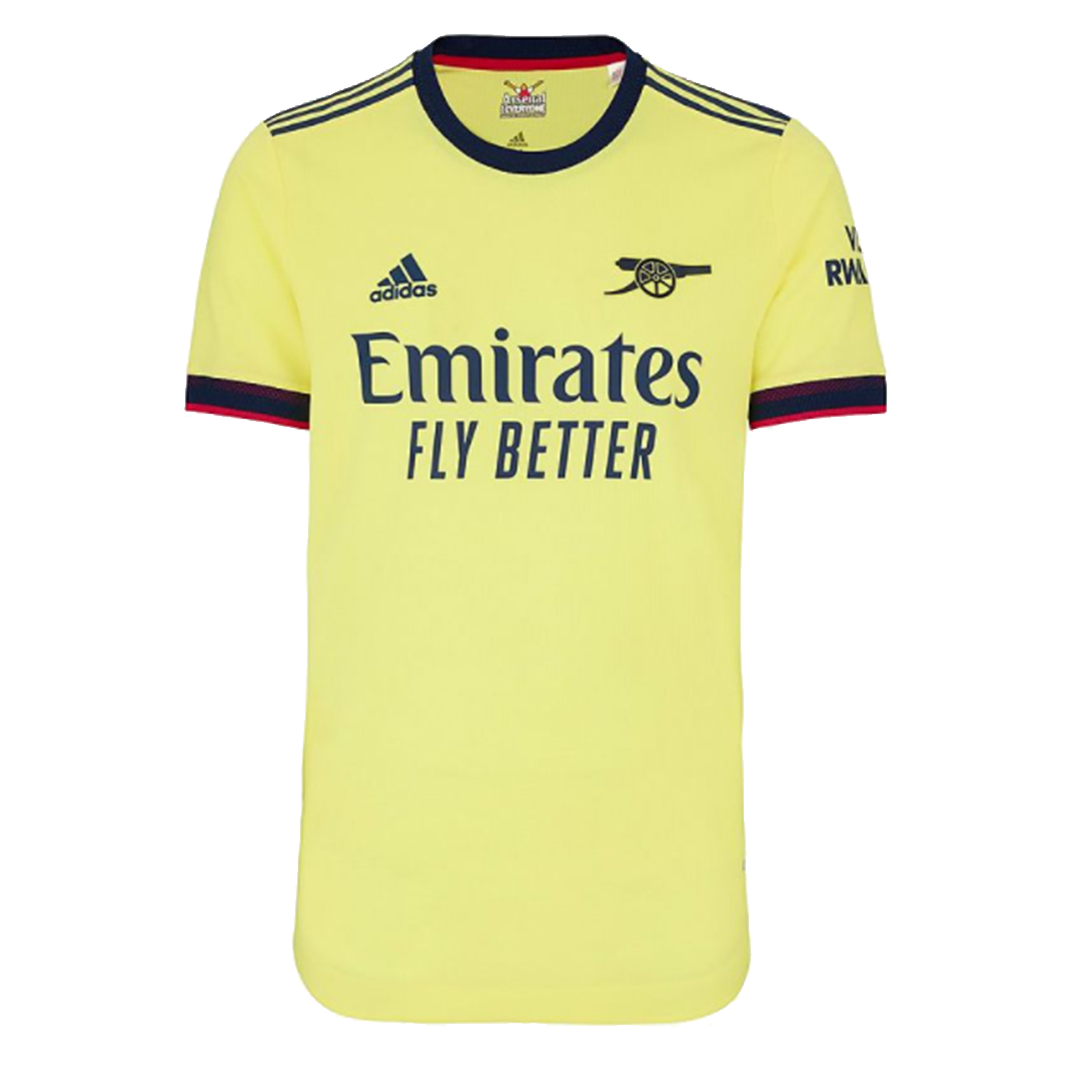 Arsenal Authentic Away Jersey 2021/22 By Adidas
