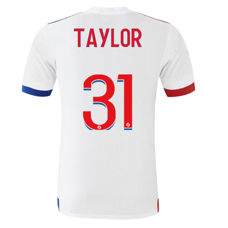 TAYLOR #31 Olympique Lyonnais Home Jersey 2020/21 By Adidas