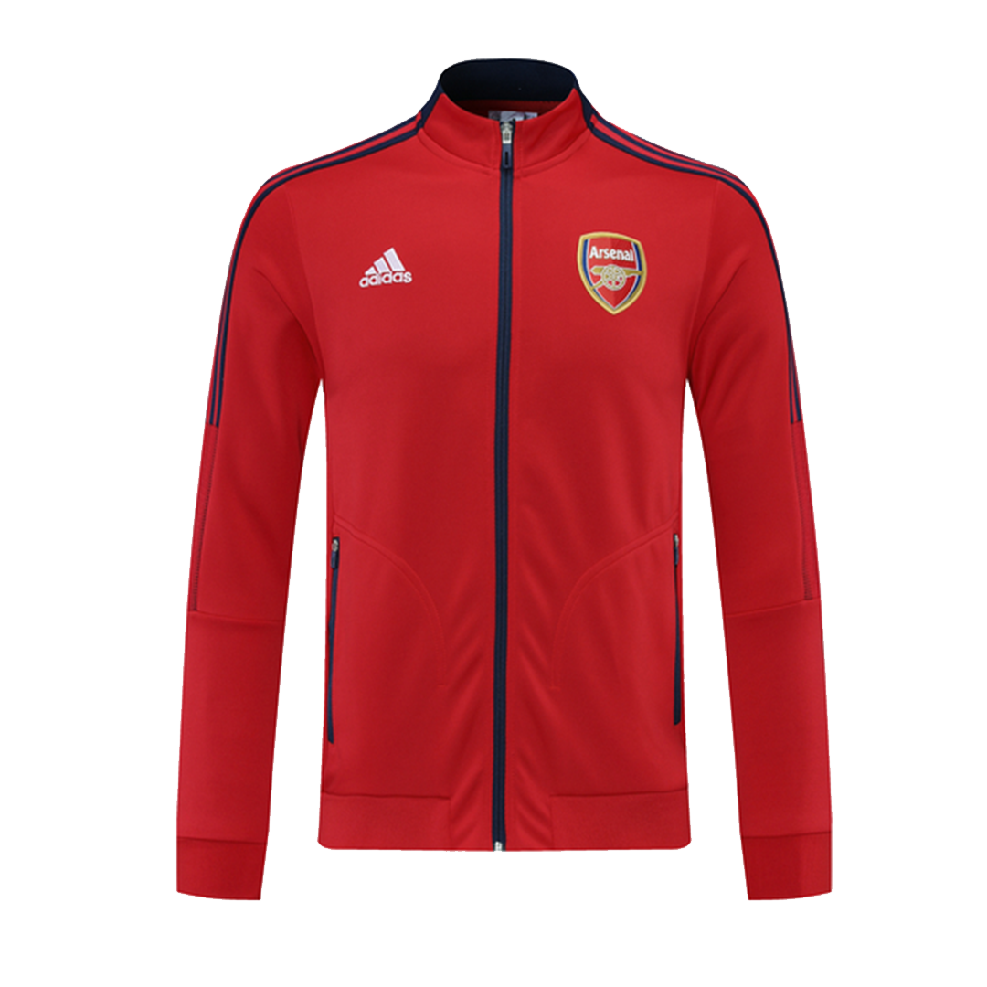 Arsenal Training Jacket 2021/22 By Adidas - Red