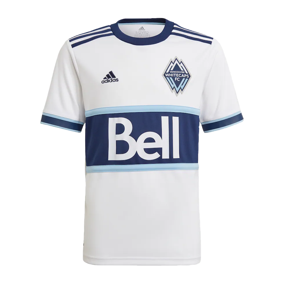 Vancouver Whitecaps Home Jersey 2021 By Adidas