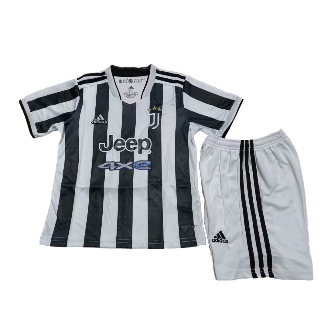 Juventus Home Jersey Kit 2021/22 By Adidas - Youth