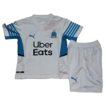 Marseille Home Jersey Kit 2021/22 - Youth