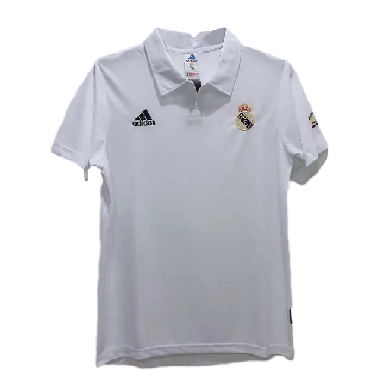 Real Madrid Home Jersey Retro 2002/03 By Adidas