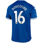 DOUCOURE #16 Everton Home Jersey 2020/21 By Hummel