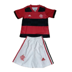 CR Flamengo Home Jersey Kit 2021/22 By Adidas - Youth