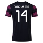 CHICHARITO #14 Mexico Home Jersey 2021 By Adidas