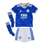 Leicester City Home Jersey Kit 2021/22 By Adidas -Youth