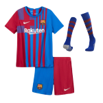 Barcelona Home Jersey Kit 2021/22 By Nike -Youth