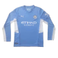 Manchester City Home Jersey 2021/22 By Puma - Long Sleeve