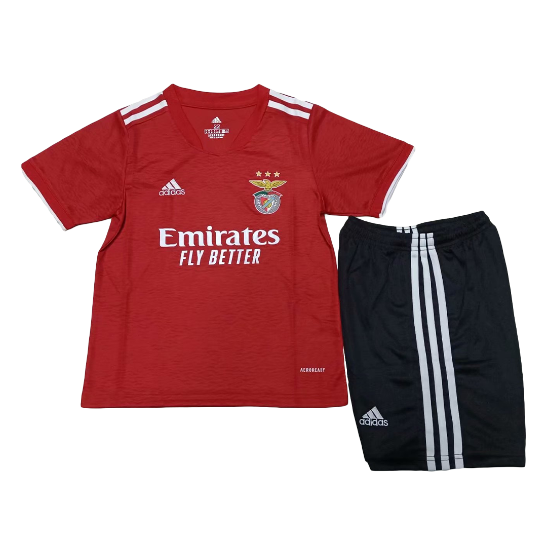 Benfica Home Jersey Kit 2021/22 By Adidas - Red