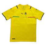 Italy Goalkeeper Jersey 2021/22 By Puma - Yellow