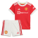 Manchester United Home Jersey Kit 2021/22 By Adidas - Youth