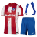 Atletico Madrid Home Jersey Kit 2021/22 By Nike (Shirt+Shorts+Socks) - Red&White