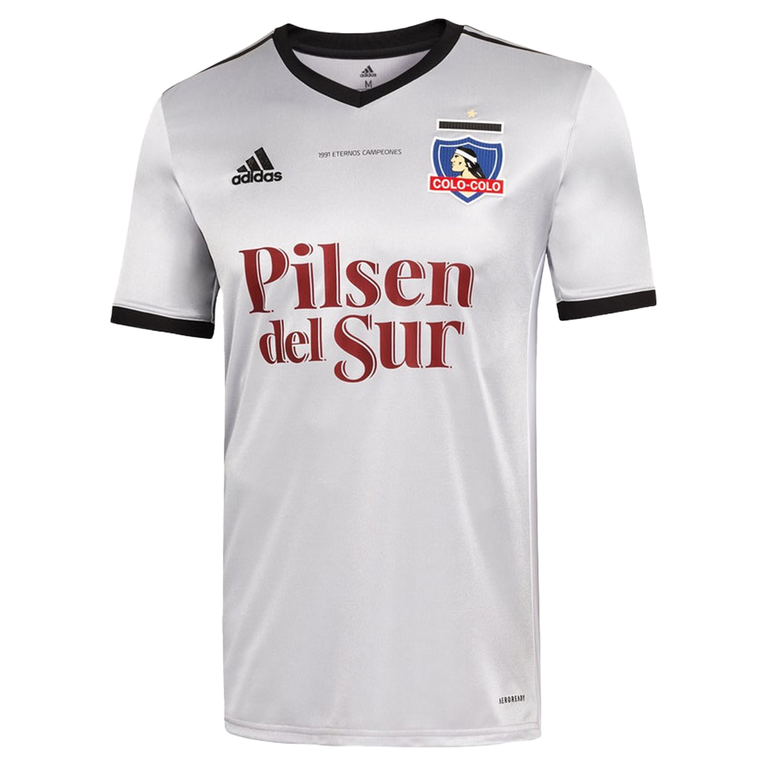 Colo Colo 30th Anniversary Jersey 2021/22 By Adidas | Elmont Youth ...