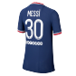 Messi #30 PSG Authentic Home Jersey 2021/22 By Jordan