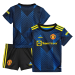 Manchester United Third Away Jersey Kit 2021/22 By Adidas - Youth