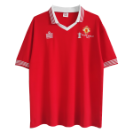 Manchester United Home Jersey Retro 1977 By Admiral