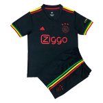 Ajax Third Away Jersey Kit 2021/22 By Adidas - Youth