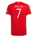 RONALDO #7 Manchester United Home Jersey 2021/22 - UCL
