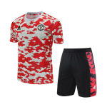 Manchester United Jersey Kit 2021/22 By Adidas - White&Red