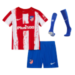 Atletico Madrid Home Jersey Kit 2021/22 By Nike -Youth