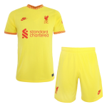 Liverpool Third Away Jersey Kit 2021/22 By Nike - Youth