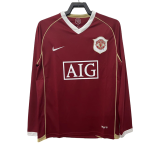Manchester United Home Jersey Retro 2006/07 By Nike - Long Sleeve
