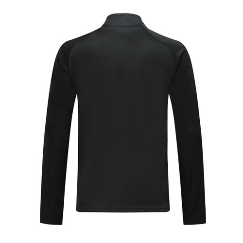 2019 Belgium Black High Neck Collar Training Jacket