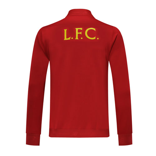 19/20 Liverpool Red High Neck Collar Training Jacket