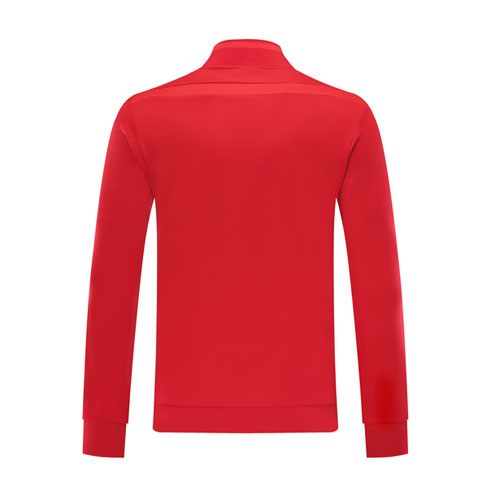 19/20 Manchester United Red High Neck Collar Training Jacket